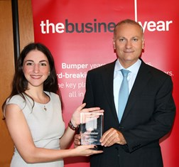 "TBY presents BLOM Bank with ""Success Story of the Year"" award"
