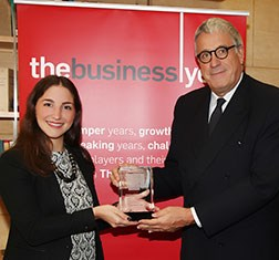 TBY's Entrepreneurial Initiative Supporter of the Year