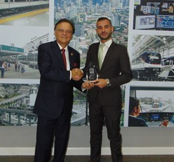 TBY Awards Panama's Minister of Canal Affairs and Metro