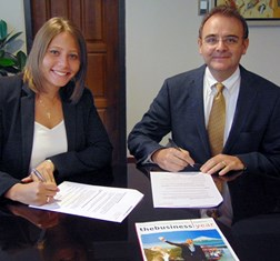 TBY signs partnership with AMCHAM Quito