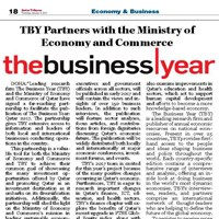 TBY partnership with Ministry of Economy and Commerce