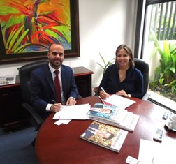 TBY signs MoU with AmCham in Costa Rica