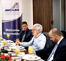 The American Chamber of Commerce and TBY organize roundtable