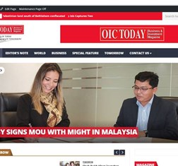 OIC Today covers TBY MoU with MIGHT in Malaysia