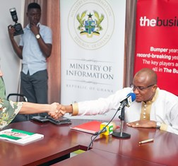 The Business Year signs strategic partnership with the Ghana Ministry of Information