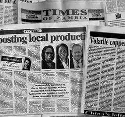 TBY Zambia Country Editor contributes to local press