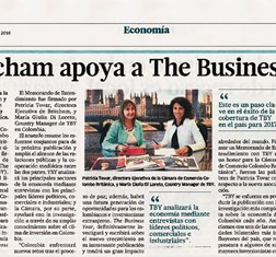 TBY's MoU with British Chamber of Commerce in Colombia in the news