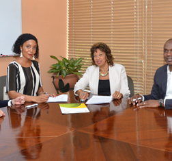 TBY signs an MoU with the Jamaican Promotions Corporation (JAMPRO)