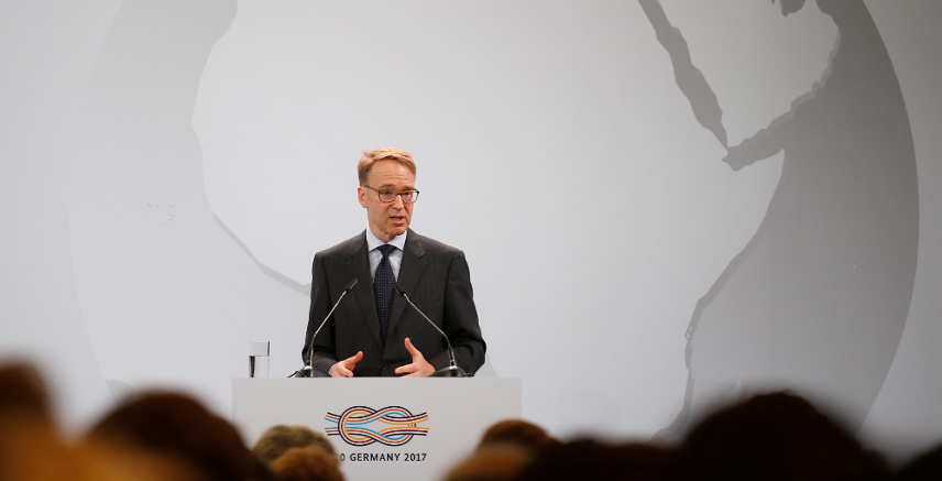 Deutsche Bundesbank (German Federal Bank) President Jens Weidmann gives a keynote to the 'G20 Africa Partnership – Investing in a Common Future' Summit in Berlin, Germany, June 13, 2017