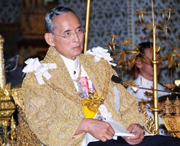 Thailand mourns the death of King Bhumibol Adulyadej