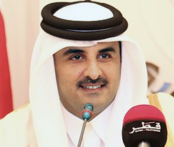 His Highness Sheikh Tamim Bin Hamad Al-Thani